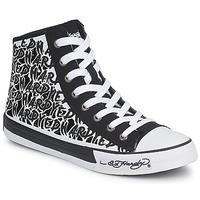 Παπούτσια Γυναίκα Ψηλά Sneakers Ed Hardy RESOUDRE Black / άσπρο