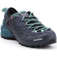 Παπούτσια Γυναίκα Πεζοπορίας Salewa WS Wildfire Edge GTX 61376-3838 black, green, navy