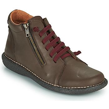 Παπούτσια Γυναίκα Μπότες Casual Attitude NELIO Brown