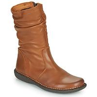 Παπούτσια Γυναίκα Μπότες Casual Attitude NIELOO Camel