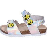 Παπούτσια Κορίτσι Σανδάλια / Πέδιλα Smiley Σανδάλια BK507 Ασήμι