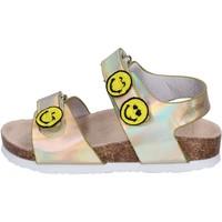 Παπούτσια Κορίτσι Σανδάλια / Πέδιλα Smiley Σανδάλια BK511 Χρυσός