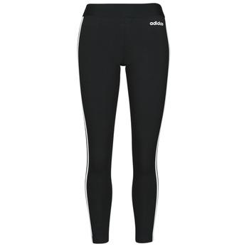 Υφασμάτινα Γυναίκα Κολάν adidas Originals W E 3S TIGHT Black / Άσπρο
