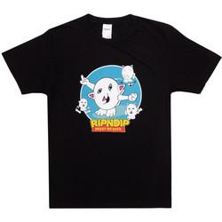 Υφασμάτινα Άνδρας T-shirts & Μπλούζες Ripndip Nerm story tee Μαύρο