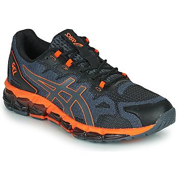 Παπούτσια Άνδρας Χαμηλά Sneakers Asics QUANTUM 360 6 Black / Grey / Orange