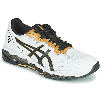 Παπούτσια Άνδρας Χαμηλά Sneakers Asics QUANTUM 360 6 Άσπρο / Black / Gold