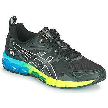 Παπούτσια Άνδρας Χαμηλά Sneakers Asics QUANTUM 180 6 Black / Μπλέ / Yellow