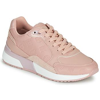 Παπούτσια Γυναίκα Χαμηλά Sneakers Guess MOXEA 2 Ροζ