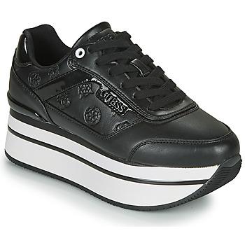 Παπούτσια Γυναίκα Χαμηλά Sneakers Guess HANSIN Black