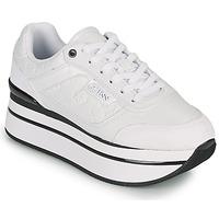 Παπούτσια Γυναίκα Χαμηλά Sneakers Guess HANSIN Άσπρο