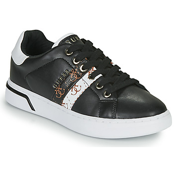 Παπούτσια Γυναίκα Χαμηλά Sneakers Guess REEL Black