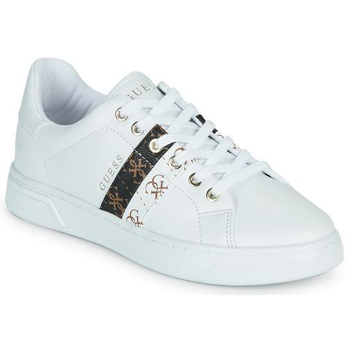 Παπούτσια Γυναίκα Χαμηλά Sneakers Guess REEL Άσπρο