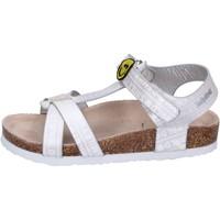 Παπούτσια Κορίτσι Σανδάλια / Πέδιλα Smiley Σανδάλια BK514 Ασήμι