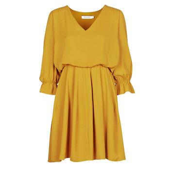 Υφασμάτινα Γυναίκα Κοντά Φορέματα Naf Naf  Yellow