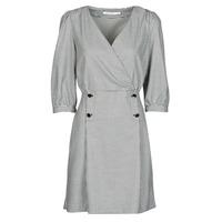 Υφασμάτινα Γυναίκα Κοντά Φορέματα Naf Naf  Black / Άσπρο