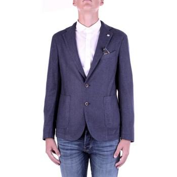 Υφασμάτινα Άνδρας Σακάκι / Blazers Manuel Ritz 2932G2728TW-203507 Blu