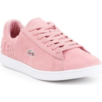 Παπούτσια Γυναίκα Χαμηλά Sneakers Lacoste Carnaby EVO 318 4 7-36SPW001213C pink