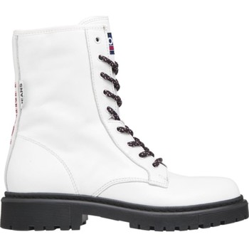 Μπότες Tommy Jeans Double Detail Lace Up Boot