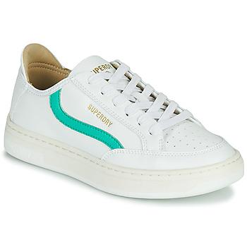Παπούτσια Γυναίκα Χαμηλά Sneakers Superdry BASKET LUX LOW TRAINER Άσπρο