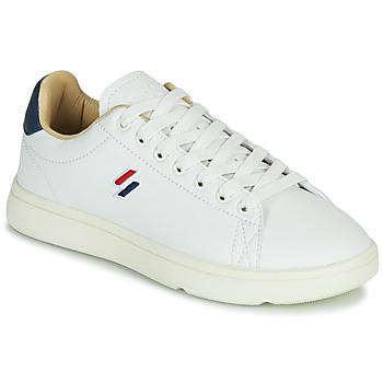Παπούτσια Γυναίκα Χαμηλά Sneakers Superdry VINTAGE TENNIS Άσπρο