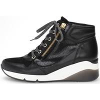 Παπούτσια Γυναίκα Ψηλά Sneakers Gabor Athen Booties Schwarz Black
