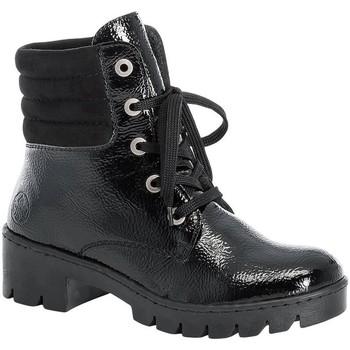 Παπούτσια Γυναίκα Μπότες Rieker Prisca Black Schwarz Black