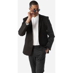 Υφασμάτινα Άνδρας Σακάκια κοστουμιού Sogo ΑΝΔΡΙΚΟ ΣΑΚΚΑΚΙ ΣΤΕΝΟ Μαύρο