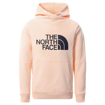 Υφασμάτινα Κορίτσι Φούτερ The North Face DREW PEAK HOODIE 2.0 Ροζ