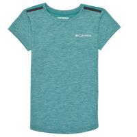 Υφασμάτινα Κορίτσι T-shirt με κοντά μανίκια Columbia TECH TREK Green