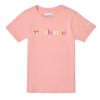 Υφασμάτινα Κορίτσι T-shirt με κοντά μανίκια Columbia SWEET PINES GRAPHIC Ροζ