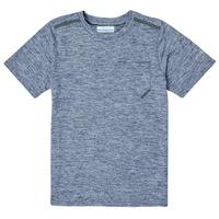 Υφασμάτινα Αγόρι T-shirt με κοντά μανίκια Columbia TECH TREK Marine