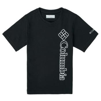 Υφασμάτινα Αγόρι T-shirt με κοντά μανίκια Columbia HAPPY HILLS GRAPHIC Black