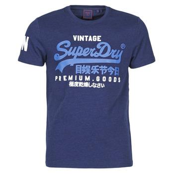 Υφασμάτινα Άνδρας T-shirt με κοντά μανίκια Superdry VL NS TEE Μπλέ