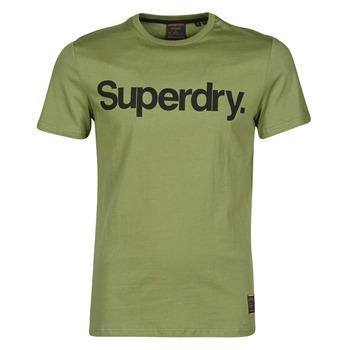 Υφασμάτινα Άνδρας T-shirt με κοντά μανίκια Superdry MILITARY GRAPHIC TEE 185 Kaki