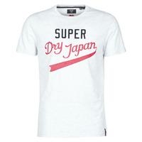 Υφασμάτινα Άνδρας T-shirt με κοντά μανίκια Superdry COLLEGIATE GRAPHIC TEE 185 Grey