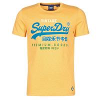 Υφασμάτινα Άνδρας T-shirt με κοντά μανίκια Superdry VL TRI TEE 220 Yellow