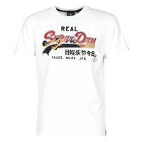 Υφασμάτινα Άνδρας T-shirt με κοντά μανίκια Superdry VL ITAGO TEE 220 Άσπρο