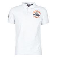 Υφασμάτινα Άνδρας T-shirt με κοντά μανίκια Superdry CLASSIC SUPERSTATE S/S POLO Grey