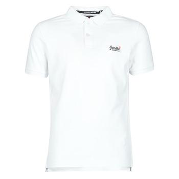 Υφασμάτινα Άνδρας T-shirt με κοντά μανίκια Superdry CLASSIC PIQUE S/S POLO Άσπρο