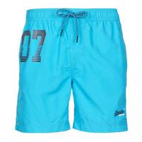 Υφασμάτινα Άνδρας Μαγιώ / shorts για την παραλία Superdry WATERPOLO SWIM SHORT Μπλέ