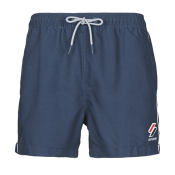 Υφασμάτινα Άνδρας Μαγιώ / shorts για την παραλία Superdry TRI SERIES SWIM SHORT Μπλέ