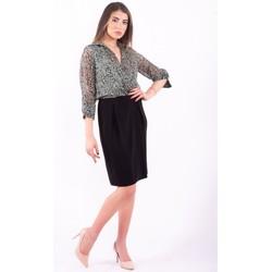 Υφασμάτινα Γυναίκα Κοντά Φορέματα Sandro Ferrone TRIPOLI Αχρωμος