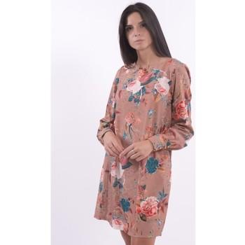 Υφασμάτινα Γυναίκα Κοντά Φορέματα Xt Studio X220WD1007W117H3 Αχρωμος