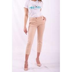 Υφασμάτινα Γυναίκα Παντελόνια Chino/Carrot Fracomina FR20SPCTINA14 Μπεζ