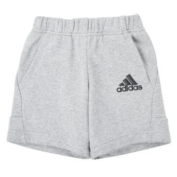 Υφασμάτινα Αγόρι Σόρτς / Βερμούδες adidas Performance B BOS SHORT Grey