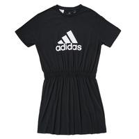 Υφασμάτινα Κορίτσι Κοντά Φορέματα adidas Performance G DANCE DRESS Black