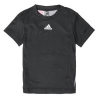 Υφασμάτινα Αγόρι T-shirt με κοντά μανίκια adidas Performance B A.R. TEE Black