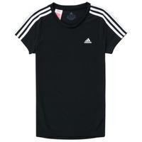 Υφασμάτινα Κορίτσι T-shirt με κοντά μανίκια adidas Performance G 3S T Black