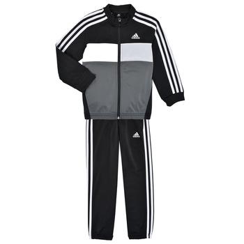 Υφασμάτινα Αγόρι Σετ από φόρμες adidas Performance B TIBERIO TS Black / Grey