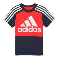 Υφασμάτινα Αγόρι T-shirt με κοντά μανίκια adidas Performance B CB T Red / Marine